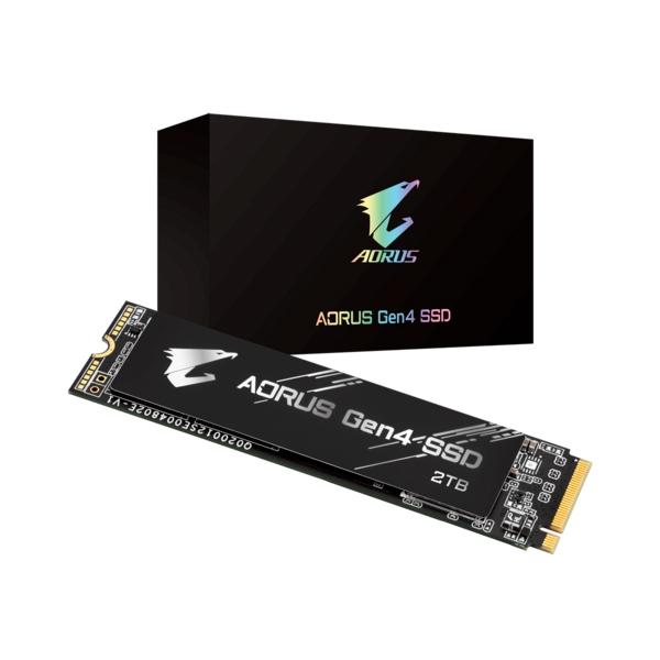 Gigabyte Aorus Gen4 2TB M2 PCIe 4  Disco duro SSD