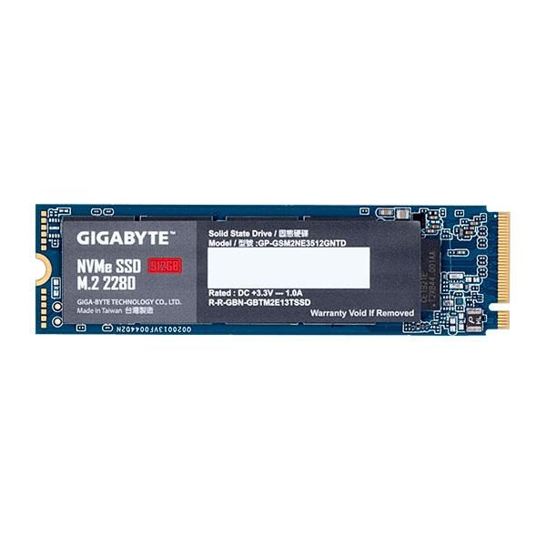 Gigabyte M.2 512GB NVMe PCIe 3.0 x4 - SSD