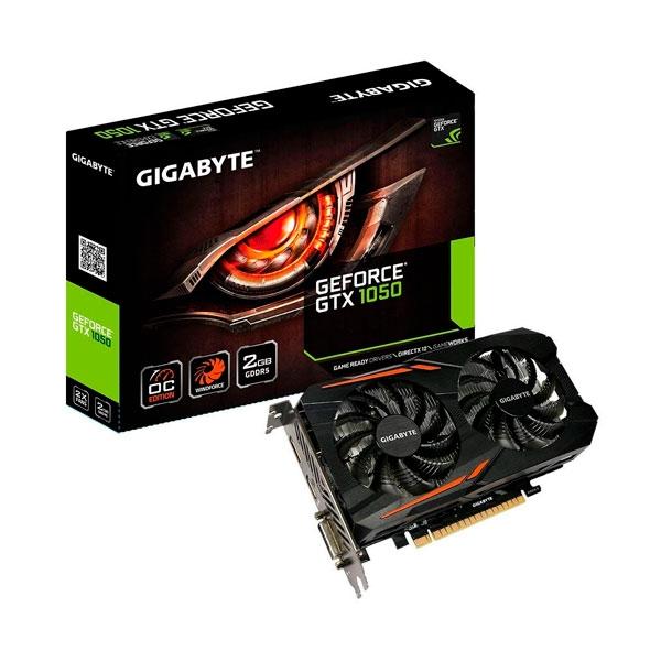 Gigabyte Nvidia GeForce GTX 1050 OC 2GB - Gráfica