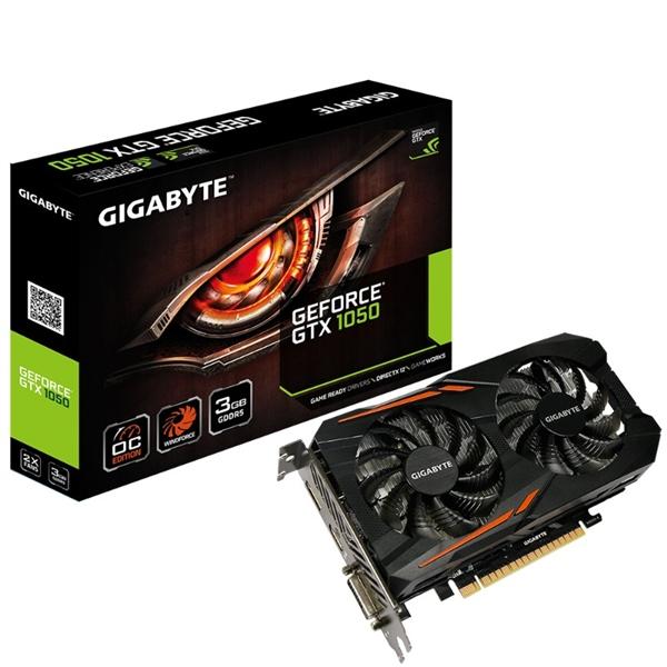 Gigabyte Nvidia GeForce GTX 1050 OC 3GB - Gráfica