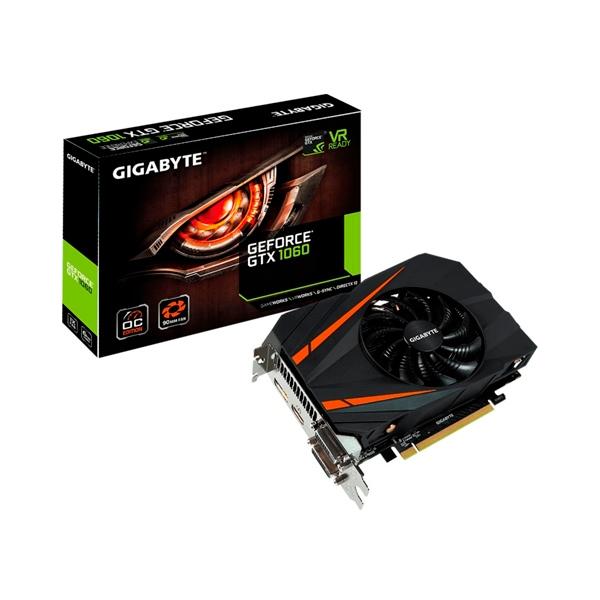 Gigabyte Nvidia GeForce GTX 1060 Mini ITX OC 6GB - Gráfica