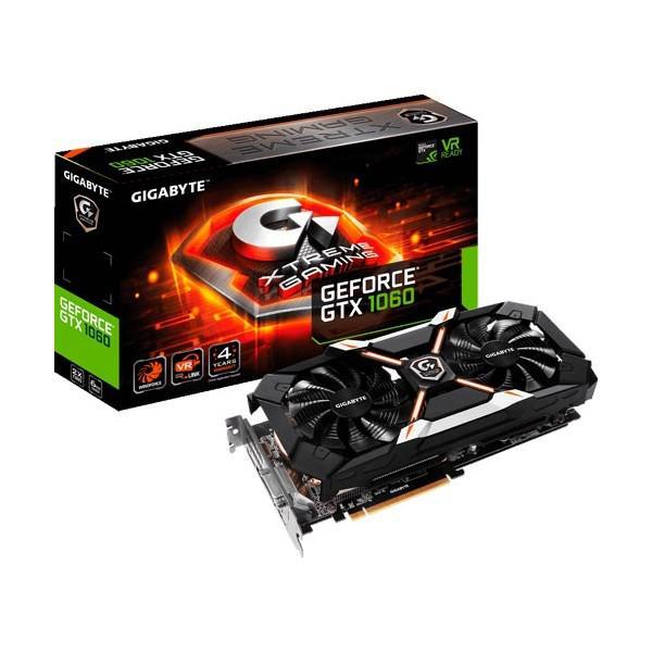 Gigabyte Nvidia GeForce GTX1060 Xtreme Gaming 6GB – Gráfica