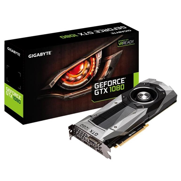Gigabyte Nvidia GeForce GTX1080 F.E. 8GB GDDR5X – Gráfica