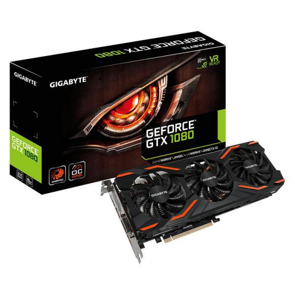 Gigabyte Nvidia GeForce GTX1080 WindForce 8GB  Grfica