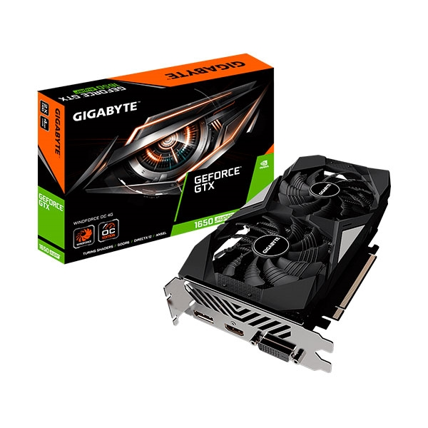 Gigabyte GeForce GTX 1650 Super WindForce OC 4GB - Gráfica