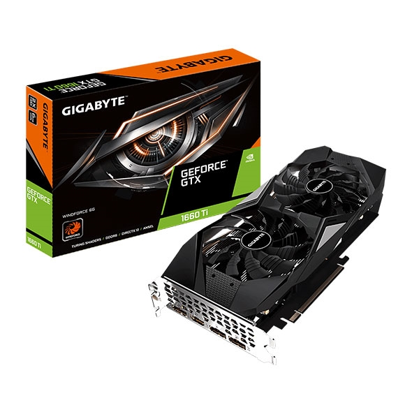 Gigabyte GeForce GTX 1660 Ti Windforce 6GB - Gráfica