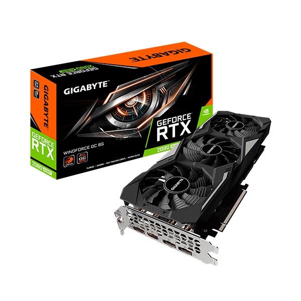 Gigabyte GeForce RTX 2080 SUPER Windforce OC 8GB  Grfica