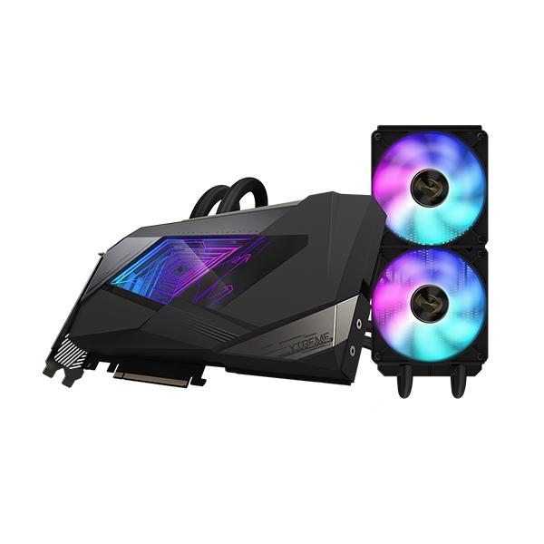 Aorus GeForce RTX3090 Xtreme Waterforce 24GB GD6X  Gráfica