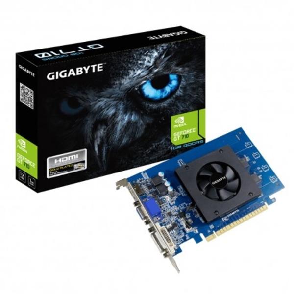 Gigabyte Nvidia GeForce GT 710 1GB GDDR5  Grfica