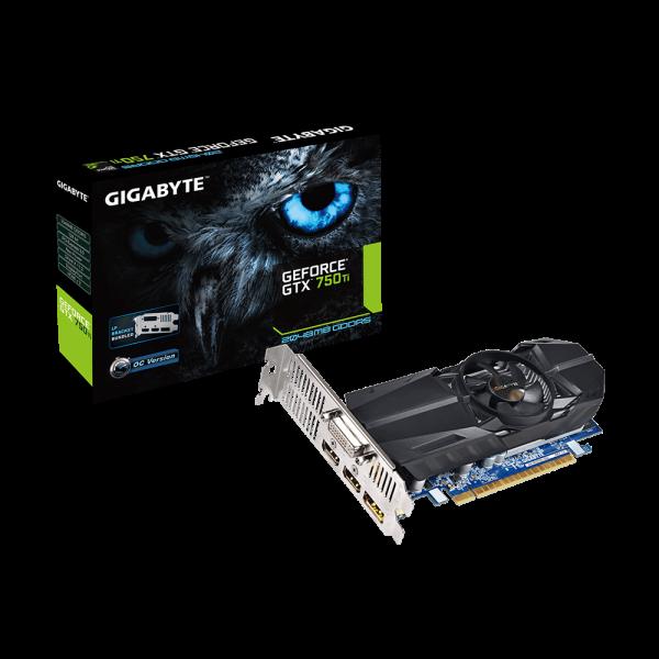 Gigabyte Nvidia GeForce GTX750 TI OC 2GB DDR5  Grfica