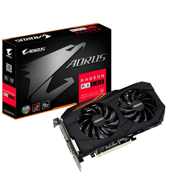 Gigabyte AMD Aorus RX580 8GB  Grfica