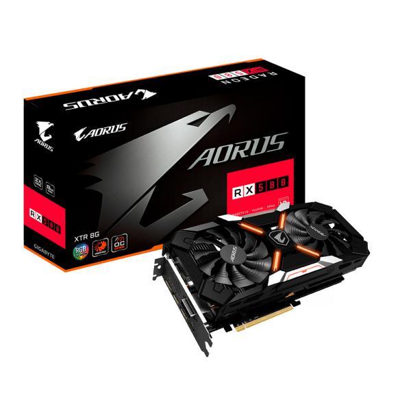 Gigabyte AMD Aorus RX580 Xtreme 8GB  Gráfica