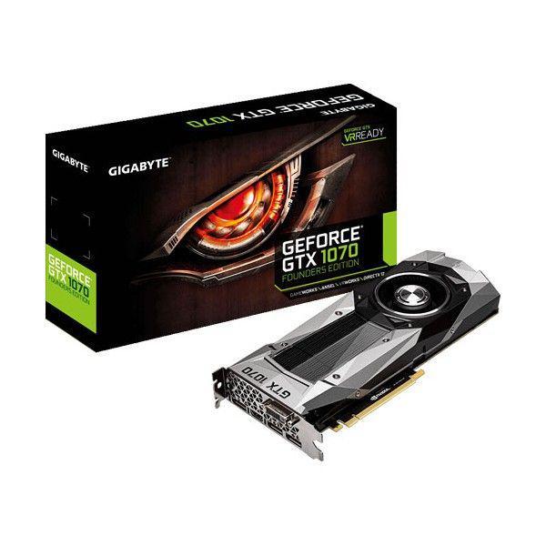 Gigabyte Nvidia GeForce GTX1070 F.E. 8GB – Gráfica