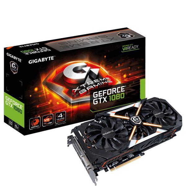 Gigabyte Nvidia GeForce GTX1080 Xtreme 8GB – Gráfica
