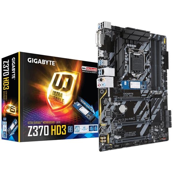 Gigabyte Z370 HD3 + 32GB Optane – Placa Base