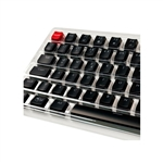 Glorious PC Gaming Race Keycaps ABS 105 Negro Layout DE