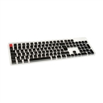 Glorious PC Gaming Race Keycaps ABS 105 Negro Layout ES