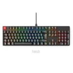 Glorious PC Gaming Race Keycaps ABS 105 Negro Layout FR