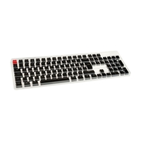 Glorious PC Gaming Race Keycaps ABS 105 Negro Layout UK