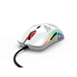 Glorious PC Gaming Race Model O RGB M White Glossy - Ratón
