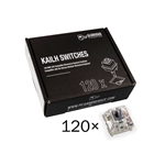 Glorious PC Gaming Race Pack 120 Switches Kailh Speed Silver