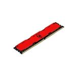 GOODRAM IRDM DDR4 2400MHz 8GB CL15 SR Rojo  Memoria RAM