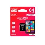 GOODRAM Micro SD 64GB M1AA CL10 UHS-I + adap. - Memoria