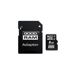GOODRAM Micro SD 8GB M40A CL4 + adaptador - Memoria Flash