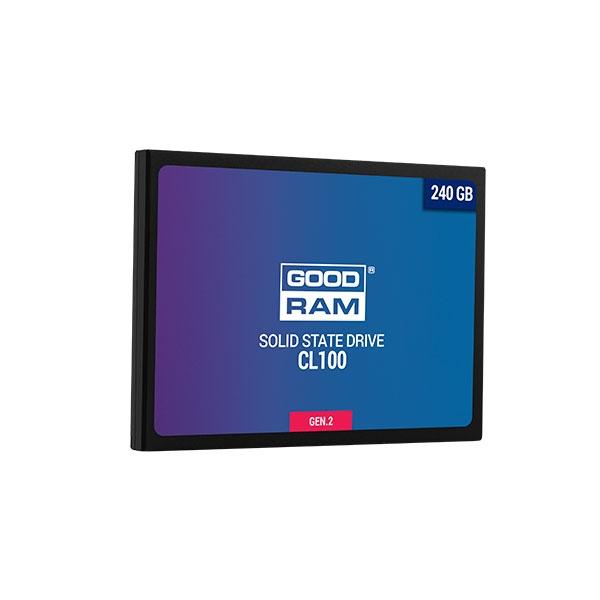 """GOODRAM SSD 240GB 2.5"""" CL100 Gen. 2 - Disco Duro Sólido"""