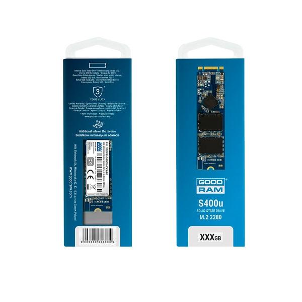 GOODRAM M2 SATA 480GB S400U 2280  Disco Duro Sólido