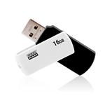 GOODRAM Pendrive 16GB UCO2 USB 2.0 Blanco/Negro - Memoria
