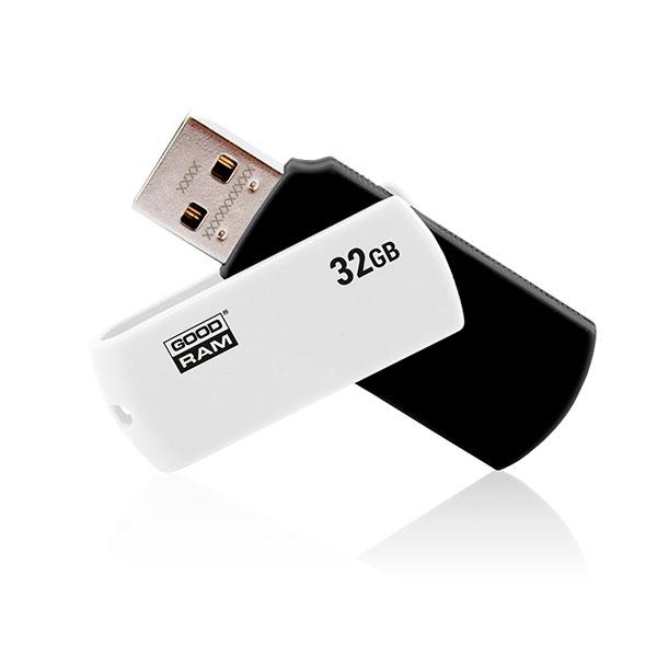 GOODRAM Pendrive 32GB UCO2 USB 20 BlancoNegro Memoria