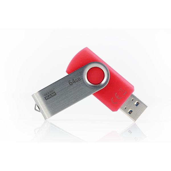 GOODRAM Pendrive 64GB UTS3 USB 3.0 Rojo - Memoria
