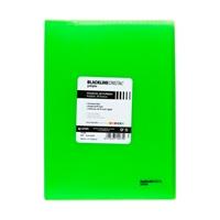 Grafoplás Carpeta Poliplás Backline con 40 fundas Verde