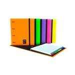 Grafoplás Carpeta CarpeBook A4 Unequal Amarillo Fluor Anilla