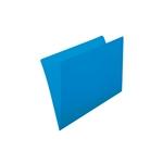 Grafopls Pack 50 Subcarpetas A4 Cartulina 180gr Azul