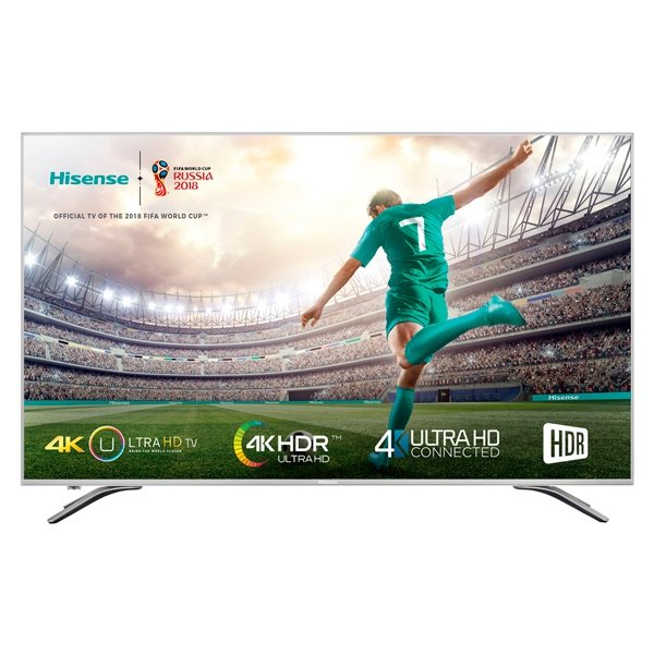 "Hisense 55A6500 55"" 4K HDR Smart TV 3 HDMI USB - TV"