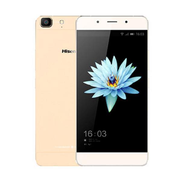 HISENSE C1 5.5″ OC 16GB 2GB Android 5.1 Oro – Smartphone