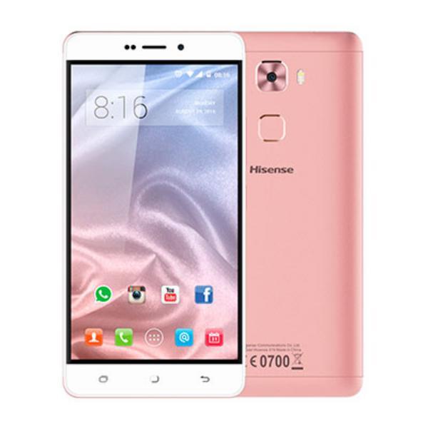 HISENSE E76 5.5″ 32GB 3GB Android 6 Rosa – Smartphone
