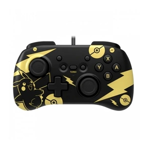 Hori Horipad Mini Pikachu Black amp Gold para Nintendo Switch  Gamepad