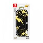 Hori Duraflexi Pikachu Black amp Gold  Carcasa para Nintendo Switch Lite