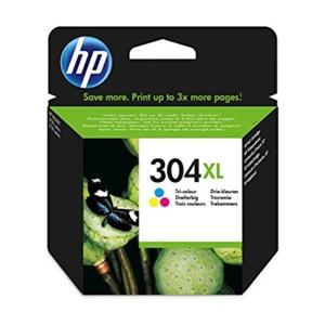 HP 304XL Color 300 paginas  Tinta
