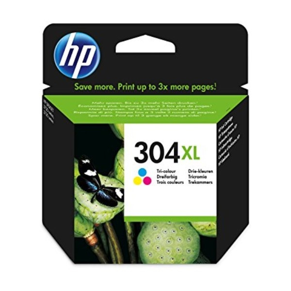 HP 304XL Color 300 paginas - Tinta