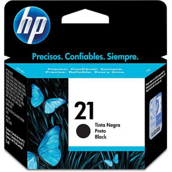 HP 21 negro 190 pag - Tinta