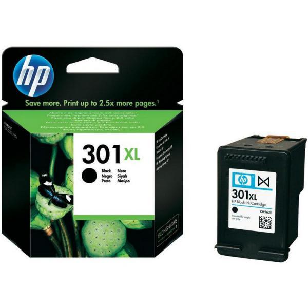 HP 301XL negro 480 pag – Tinta