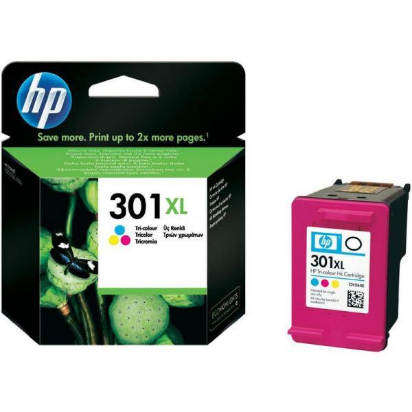 HP 301XL tricolor 330 pag – Tinta