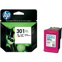 HP 301XL tricolor 330 pag  Tinta