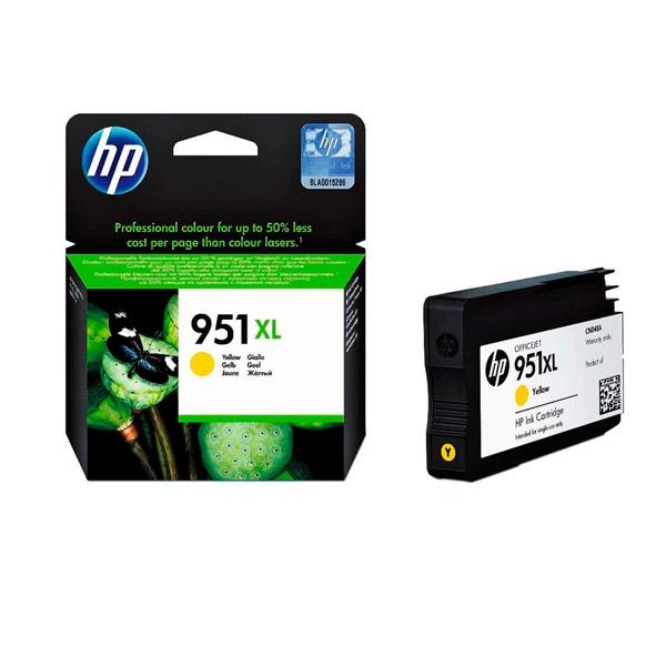 HP 951XL Amarillo 1500 pag  Tinta