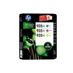 HP 935XL Pack 3 Amarillo, cian, Magenta - Tinta