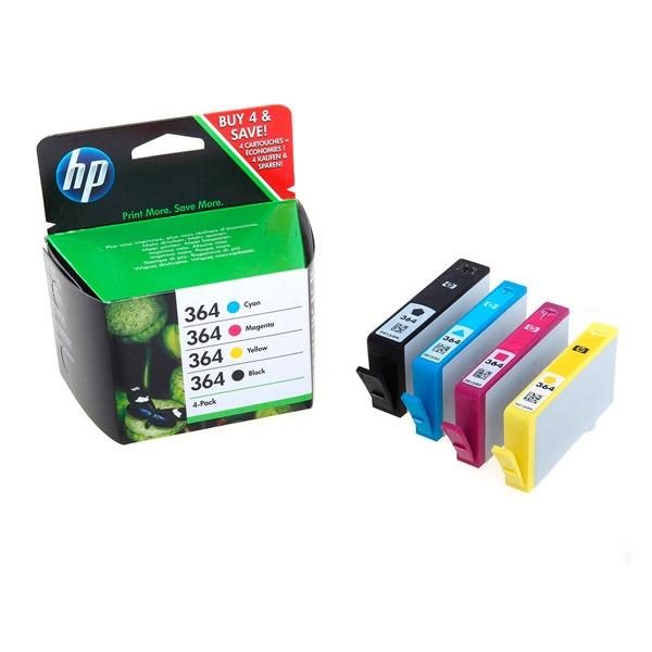 HP 364 CoMBo Pack  Cartuchos de tintas y toner